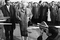 Slavnostností otevření proběhlo za obrovského zájmu veřejnosti a tehdejších nejvyšších politických představitelů na státní svátek 28. října 1967.