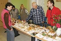Výstava hub v Tuhani.