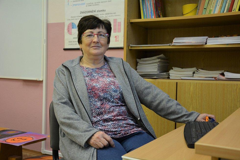 Marie Chadimová vede na škole ve Školní ulici v České Lípě odborovou organizaci.