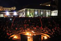 Muzejní noc v českolipském vlastivědném muzeu v roce 2018.
