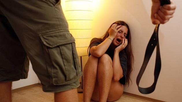 Domácí násilí - ilustrační foto