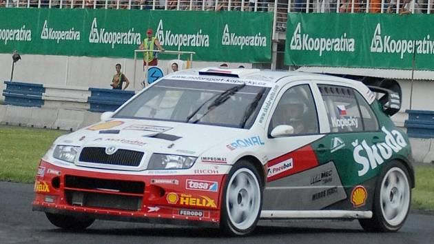 Škoda Fabia WRC Jana Kopeckého