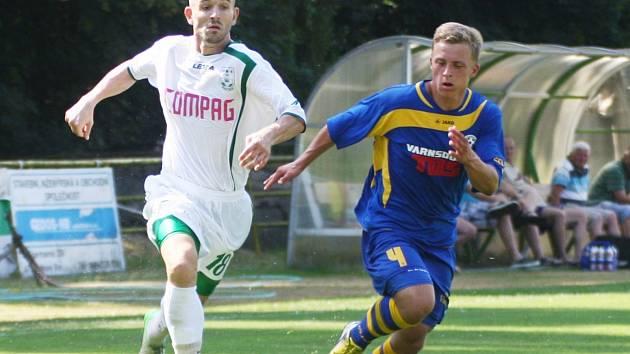 Jan Broschinský je oporou zadních řad FC Nový Bor.