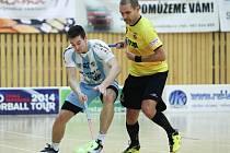 Milan Tichý (vlevo) v akci.