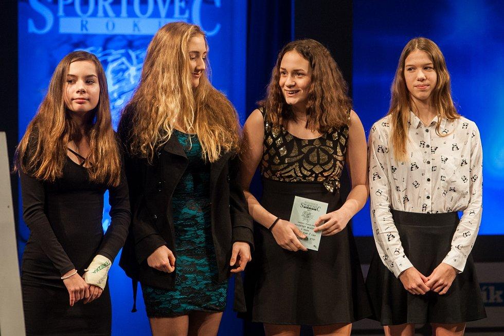 4. místo v kategorii kolektiv mládeže získala štafeta PK Česká Lípa: Lucie Dědicová, Markéta Musilová, Natálie Musilová a Linda Salehová.