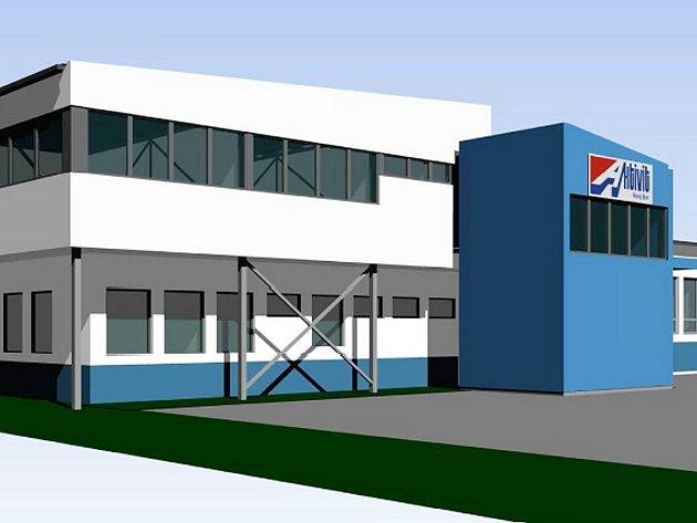 Moderní vzhled získá nová montážní hala firmy Aktivit v novoborských Arnultovicích díky plánované nástavbě.
