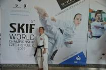 Pavlasová uspěla na mistrovství světa karatistů.