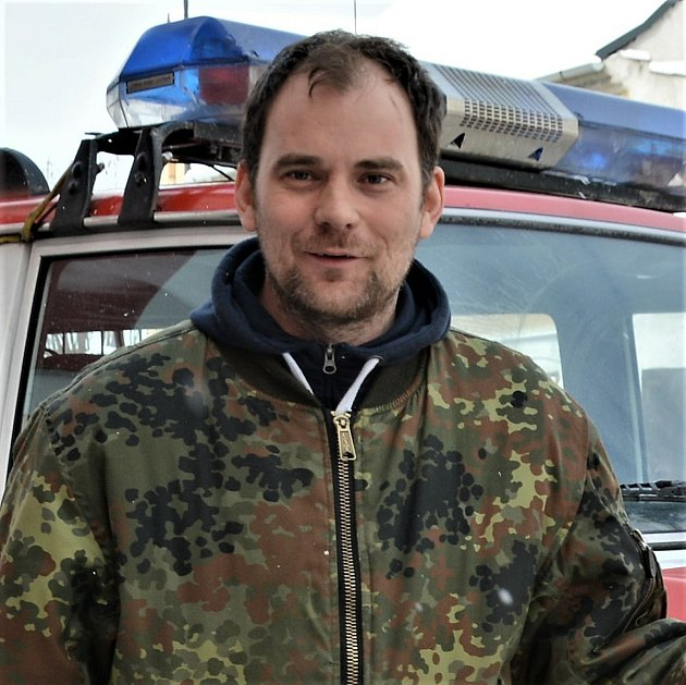 Zbyšek Stibor, hasič, velitel