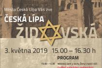 Plakát Česká Lípa židovská