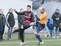Fotbalisté České Lípy ve svém posledním přípravném utkání zdolali FK Jílové 1:0. Jediný gól zápasu vstřelil v 62. minutě Daniel Kýček.