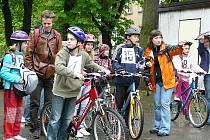 Oblastní kolo Dopravní soutěže mladých cyklistů má své vítěze. Akci pořádala českolipská městská policie.