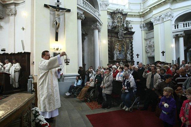 Bazilika sv. Vavřince a sv. Zdislavy vJablonném vPodještědí.