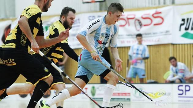 Českolipští florbalisté si ve čtvrtém kole 1. ligy mužů připsali dva body za výhru 7:6 po nájezdech nad Havířovem.