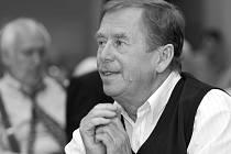 Václav Havel na návštěvě Liberce v roce 2003.