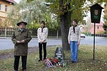 Veřejné setkání u Lípy svobody na Slovance.