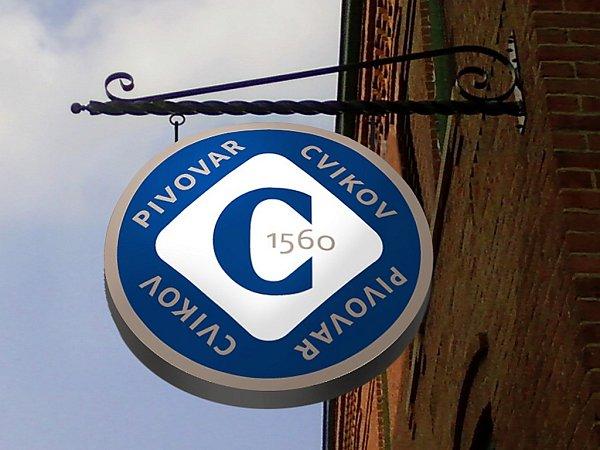 Už má své logo idesign etiket pro jednotlivé druhy piv. Budování pivovaru Cvikov postupuje mílovými kroky kupředu.