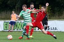 Divize mužů: FC NOVÝ BOR - SK POLABAN NYMBURK 1:2 (0:2).