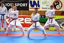 Karate klub Sport Relax v Ústí získal pětadvacet medailí, z toho sedm zlatých.