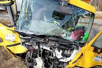 Nehoda v Sosnové.