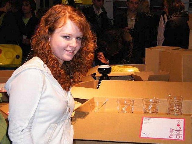 Kateřina Šípová se svým souborem.