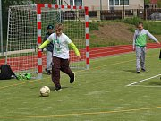 Nový multifunkční areál, ve který se proměnilo zastaralé sportoviště za Základní školou v Doksech.