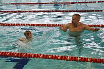 Plavecký bazén v českolipském Sportareálu.