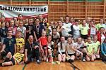 Volejbalovou ligu ovládla akademie zNového Boru.