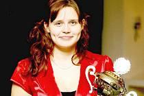 Zuzana Šostková. Na svůj první triumf v kategorii dospělých je náležitě hrdá.