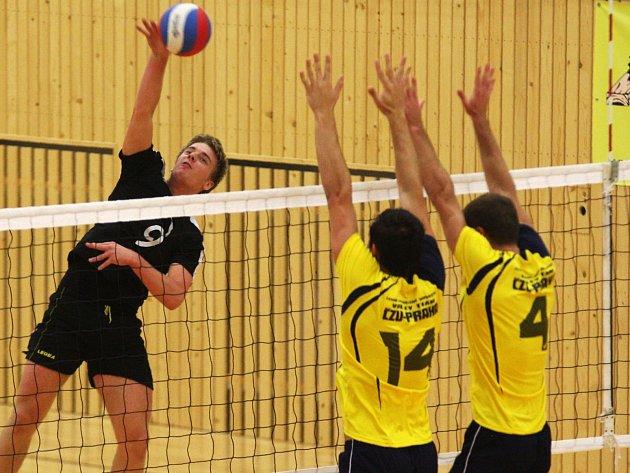 Volejbalisté Lokomotivy Česká Lípa jsou zatím na šestém místě tabulky 1. ligy.
