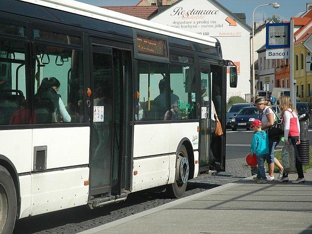 Městská autobusová doprava v České Lípě.