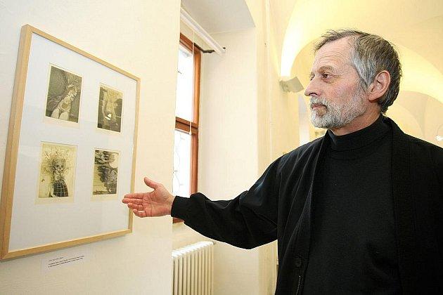 Díla inspirována básní Máj budou v galerii k vidění do 9. května.