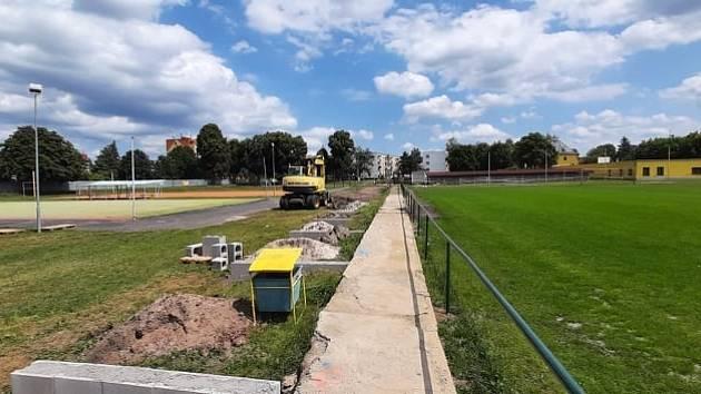 Rekonstrukce sportovního areálu TJ Lokomotiva