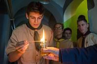 Betlémské světlo dorazilo do České Lípy.