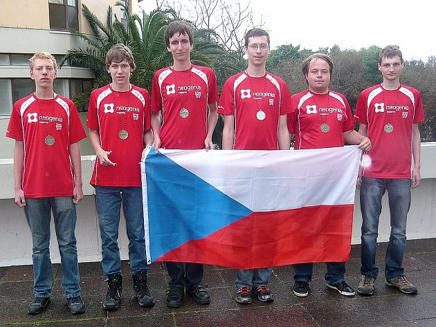 Reprezentanti ČR v Kapském Městě (zleva): Pavel Turek, Radovan Švarc, Filip Bialas, Tomáš Novotný (Česká Lípa), Viktor Němeček, Martin Hora.