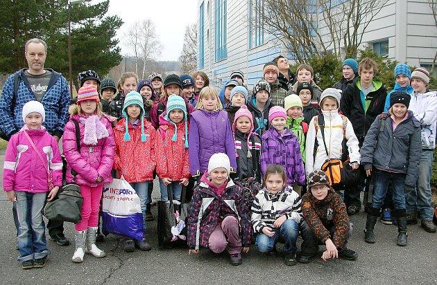Na závodech v Rumburku startovalo 34 českolipských plavců.