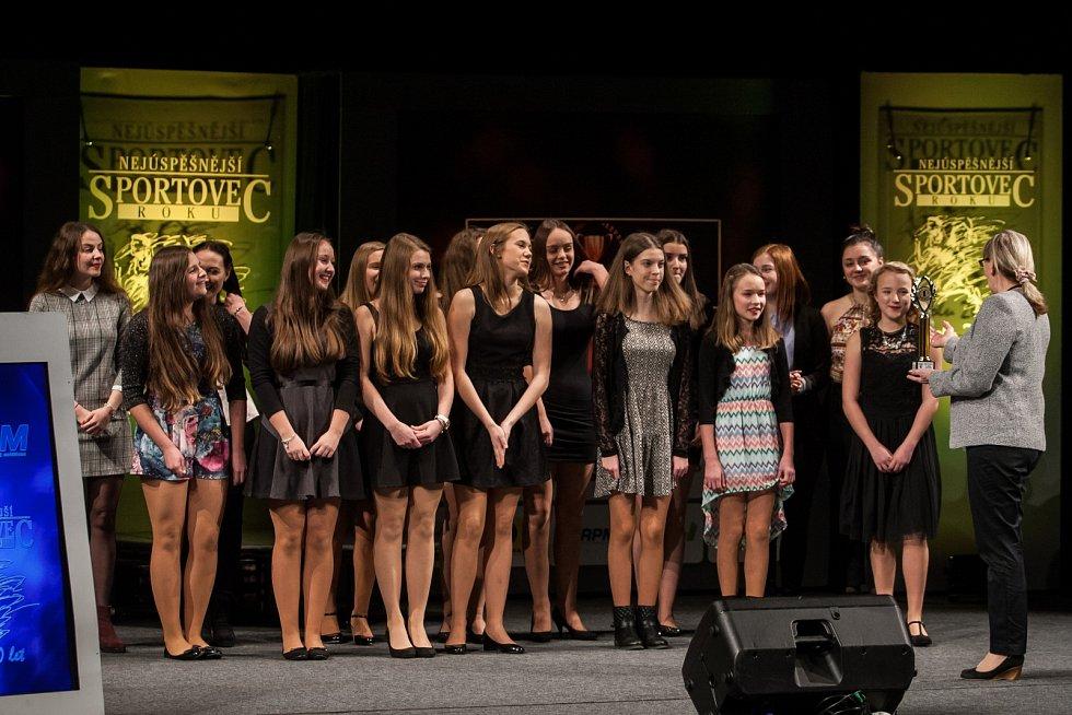 Nejlepším týmem mládeže se staly mažoretky Rytmic Česká Lípa.