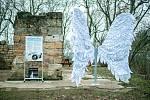 Andělská křídla na Holém Vrchu.