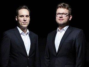 Pěvecké duo Kchun -  Marek Šulc a Martin Prokeš.