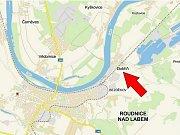 Rozbouřený Panenský potok napáchal největší škody na zahradách, garážích a sklepech.