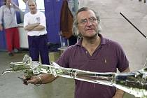 Bořek Šípek před patnácti lety.