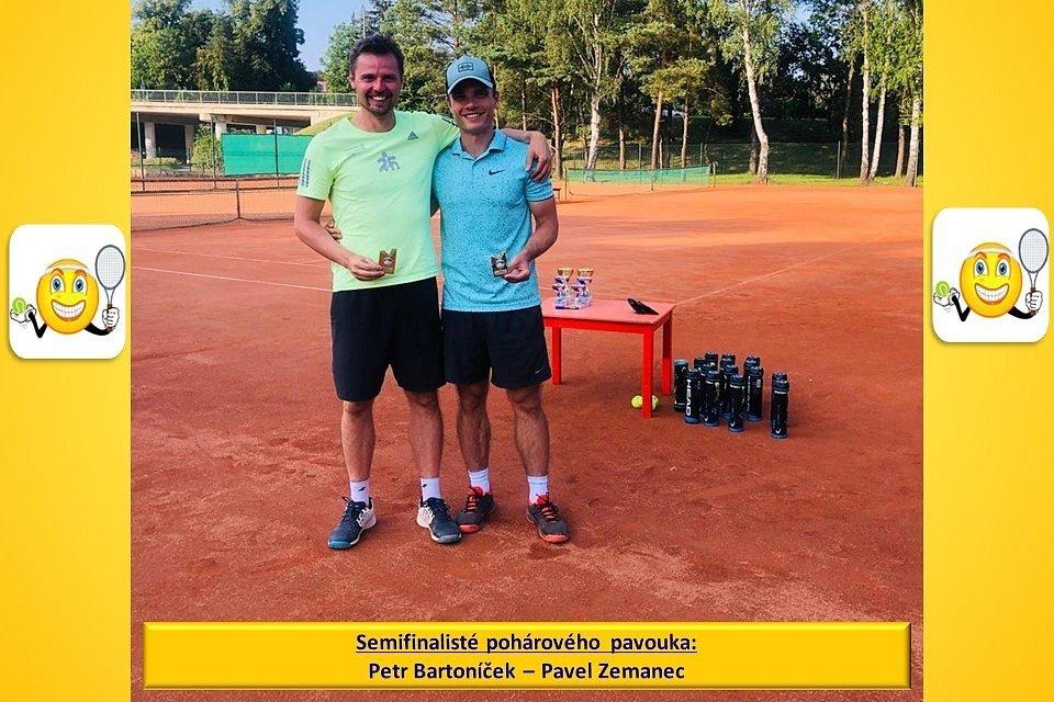 U Ploučnice se hrály turnaje v mužské i ženské čtyřhře.