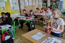 Tematicky zaměřený den si na konci záři užili záci čtvrté třídy Základní školy v Dubé.