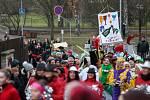 Tradiční masopust ve stylu brazilského karnevalu přilákal tisíce lidí a bylo se na co dívat. Kromě průvodu plného více jak dvou set masek nechyběl závod Historická lyže.