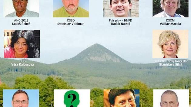 O jednadvacet míst v zastupitelstvu bude bojovat deset politických stran. Vítězství obhajuje opoziční ČSSD.