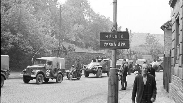 Výstava Sovětská okupace od počátku do konce.