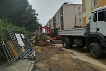V Jiráskově ulici budou rekonstruovat plynovod.