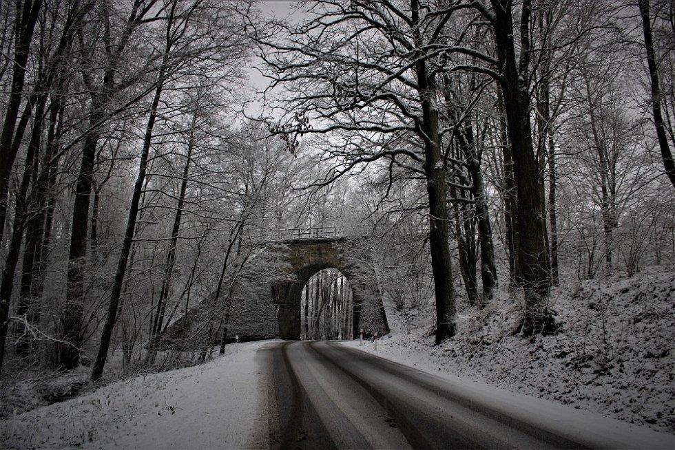 Viadukt v Častolovicích.