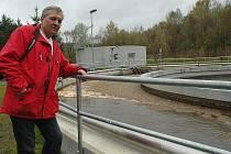Přísným evropským normám vyhovuje čistička odpadních vod v Žandově, a to díky právě ukončené kompletní modernizaci technologií i samotného objektu.