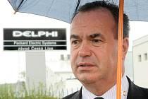 Ambasáda USA hejtmanovi přislíbila pomoc, aby zaměstnanci českolipské společnosti Delphi Packard nemuseli stávkovat.