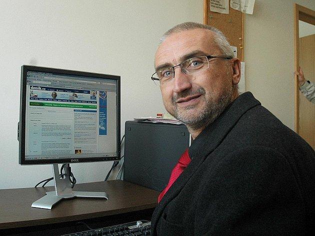 Bývalý reditel českolipské nemocnice Petr Chmátal.